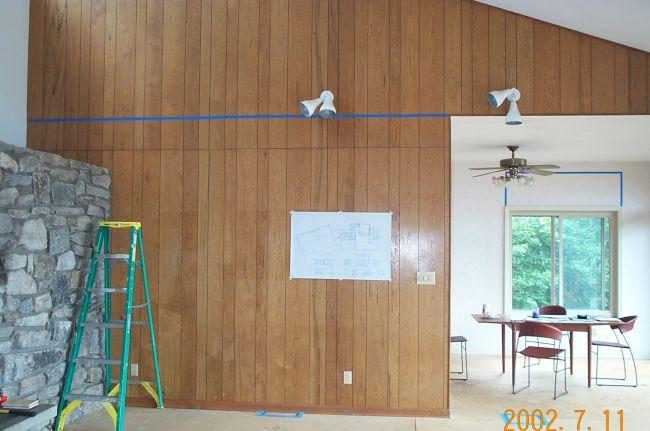 Living Room Remodel Before